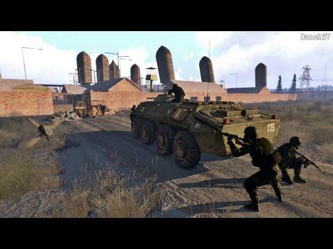 =ARMA 3 Stalker online= Штурм МОНОЛИТА!!  Тренировка у военных!  Серия №18