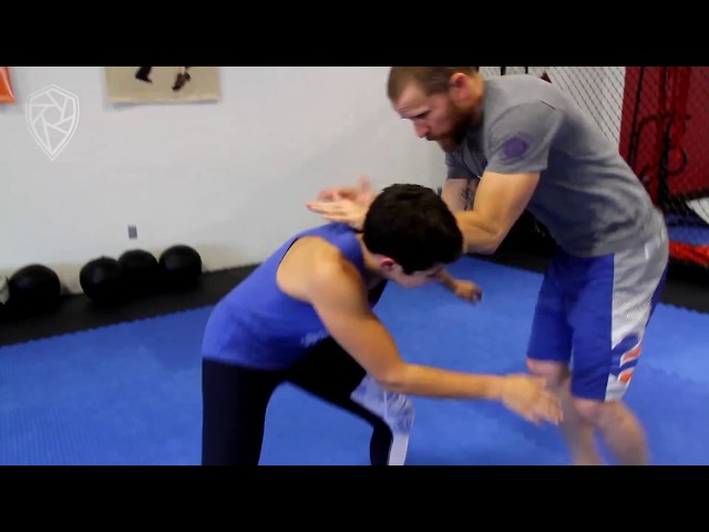Takedown and Finish from Under Hooks or Russian Arm | Ryan Hoover