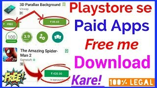 How To Download Free Google PlayStore Paid Apps And Games?