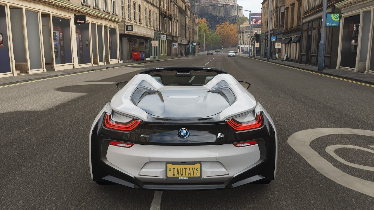 BMW I8 - Forza Horizon 4 ps4 controller pc - fh4 gameplay