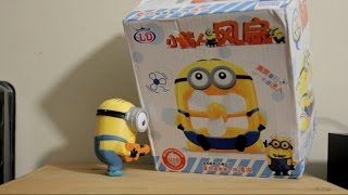 Cool Minions FAN TOY Review Funny Animation Despicable Me2