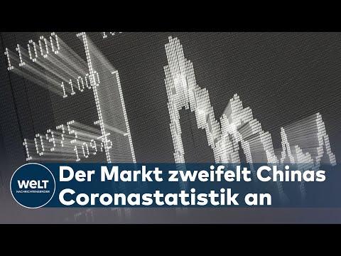 BÖRSE: Coronavirus verleitet Anleger zum Verkauf und Gold geht durch die Decke