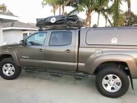 & Tacoma Roof Top Tent - YouTube