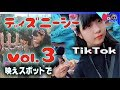 東京ディズニーシー(Tokyo DisneySea)姉妹でTikTok?+映えスポットVol.3【…