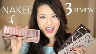 Urban Decay Naked 3 Palette REVIEW & COMPARISON!