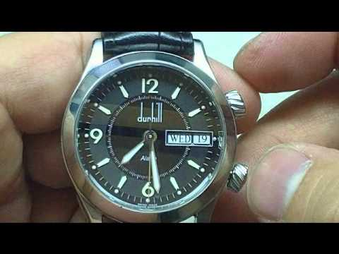 dunhill sportscape alarm automatic watch review dunhill sportscape alarm automatic watch review