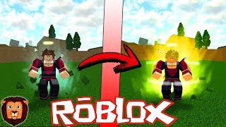 I BECOME IN SUPER SAIYAN! ROBLOX DRAGON BALL Z FINAL STAND IN ROBLOX #8 LEON PICARON