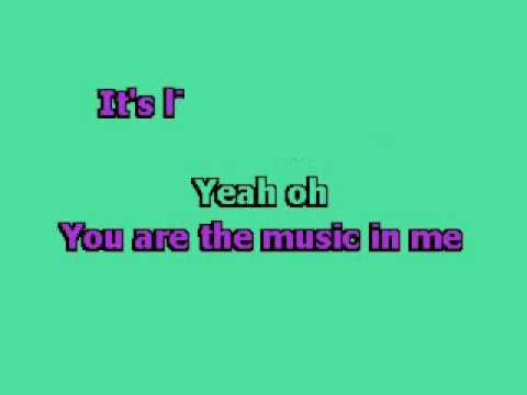 High School Musical 2 - You Are The Music In Me Karaoke