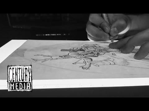 HIDEOUS DIVINITY - Actaeon (OFFICIAL VIDEO) [Timelapse]