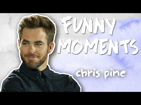 Chris Pine Funny Moments! Singing, Dancing, & Jokes
