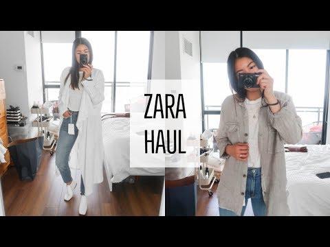 Spring Summer 2018 Fashion Try-on Haul  ZARA 8c5effa3f5
