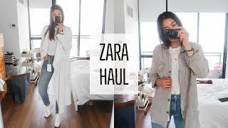 ZARA HAUL | SPRING / SUMMER TRY-ON