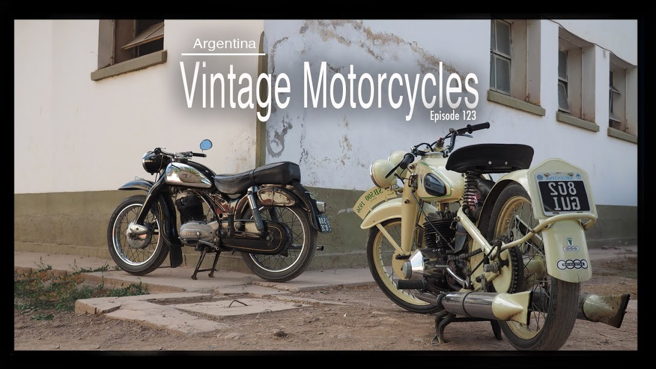 Argentina: Vintage Motorcycles