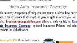 Idaho  Auto Insurance Company - Idaho Car Insurance Quote
