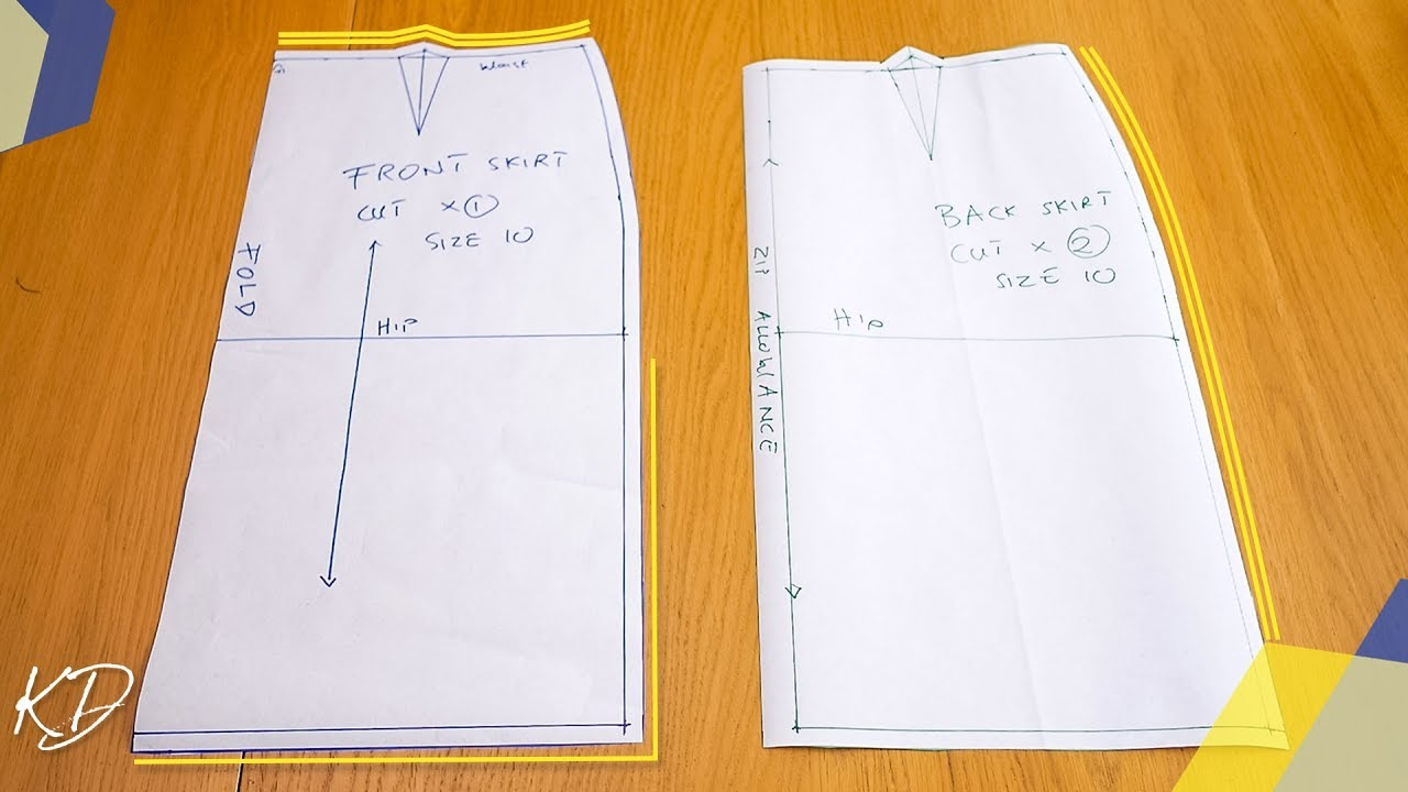 Download HOW TO: DRAFT BASIC SKIRT PATTERNS | KIM DAVE