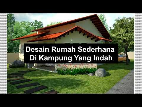 66 Gambar Rumah Sederhana Model Kampung Gratis Terbaru