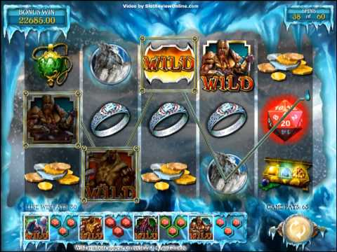 IGT Dungeons & Dragons: Treasures of Icewind Dale Slot Machine Online Game Play