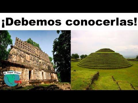 8 increíbles Zonas Arqueológicas que pocos mexicanos conocen