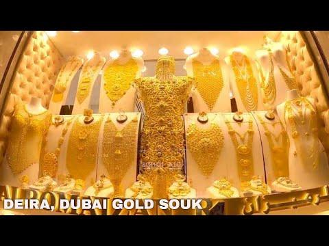 CHEAP GOLD! Deira Dubai Gold Souk Pandemic Walking Tour July 8, 2020