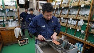 Японские ножи: в магазине и в работе_Japanese knives: in store and in action