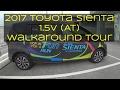 2017 Malaysia Toyota Sienta 1.5V (AT) Walkaroud Tour