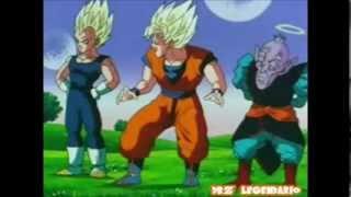 Momentos de Goku y Vegeta