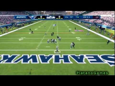 NFL 2012 Wk 2 - Michael Irvin & Dallas Cowboys vs Seattle Seahawks - Legend Careers - Madden 13 - HD