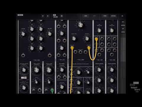 How To Tutorial - iOS Moog Model 15 - Expressive Sounds & Animoog - SubjectSound