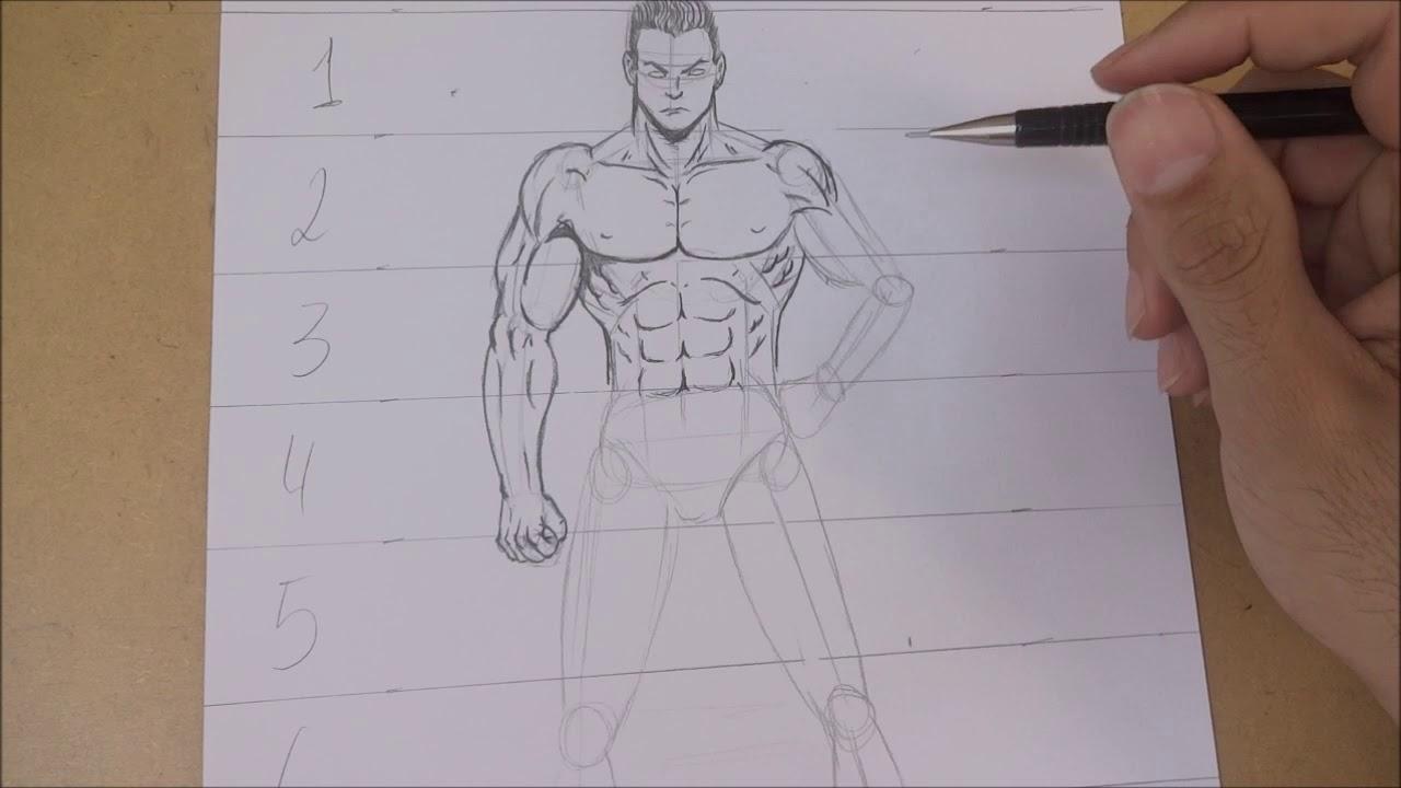 Como Desenhar O Corpo Masculino Parte 3 Bracos Youtube