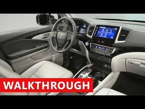 2017 Honda Pilot Interior Exterior Test Drive
