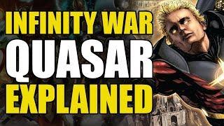 Infinity War: Quasar/Wendell Vaughn Explained