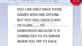 How To Hack Clash Of Clans 10000000 Work 360p