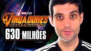 Vingadores Guerra Infinita MAIOR estreia da história e Paladins finalmente lançado para celulares