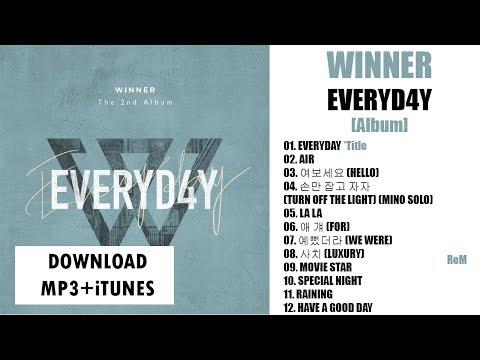 [Album] WINNER – EVERYD4Y (The 2nd Album) (MP3 + iTunes DOWNLOAD)