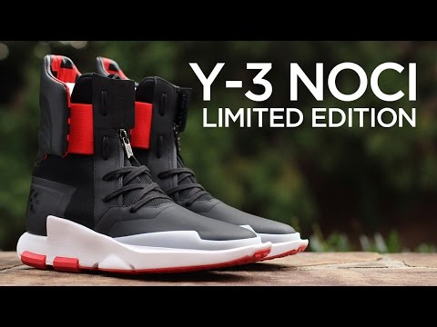 low priced 024d7 6c762 Closer Look: Y-3 NOCI 0003 Limited Edition - YouTube