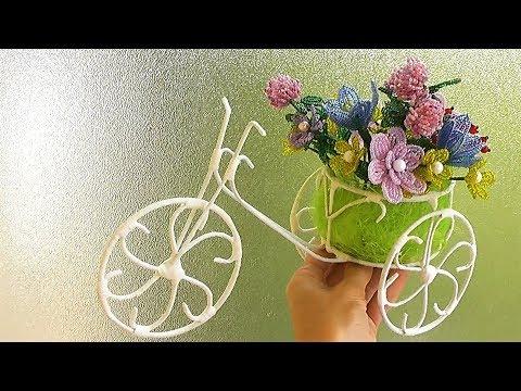 Велосипед из проволоки сделать своими руками