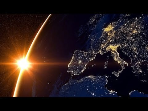 Observing Earth From International Space Station 4K