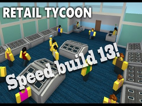 Retail Tycoon Speed Build 13 - Tech Store!