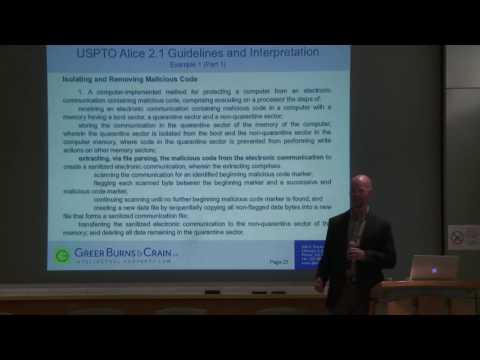 VOICE Forum: Software Patent Law Version 2.1
