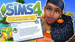 NEW ODD JOBS & CAREER GAMEPLAY | ISLAND LIVING The Sims 4