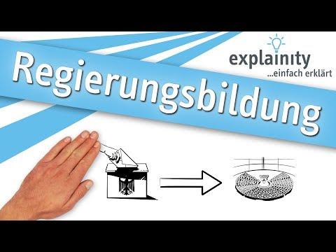 Regierungsbildung einfach erklärt (explainity® Erklärvideo)