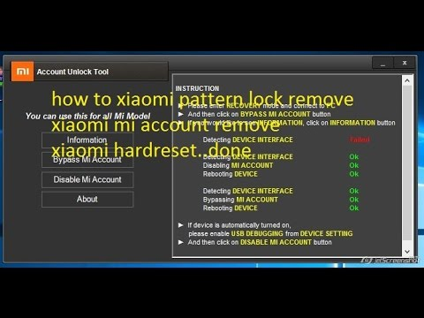 how to xiaomi redmi hard reset,mi account bypass all model
