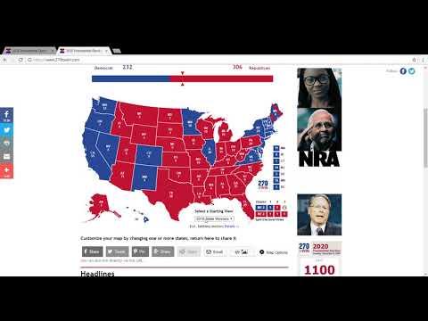 2020 Presidential Election Prediction VP Biden Vs President Trump