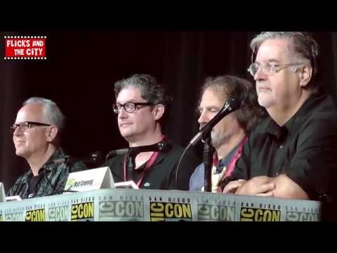 The Simpsons & Family Guy Crossover Comic Con 2014 Panel