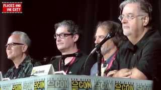 The Simpsons & Family Guy Crossover Comic Con Panel 2014