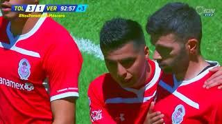 Gol de E. Gigliotti | Toluca 3 - 1 Veracruz | LIGA Bancomer MX - Clausura 2019 - Jornada 9