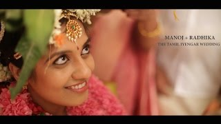 {Manoj+ Radhika} The Tamil Iyengar Wedding Highlights : Creative Chisel