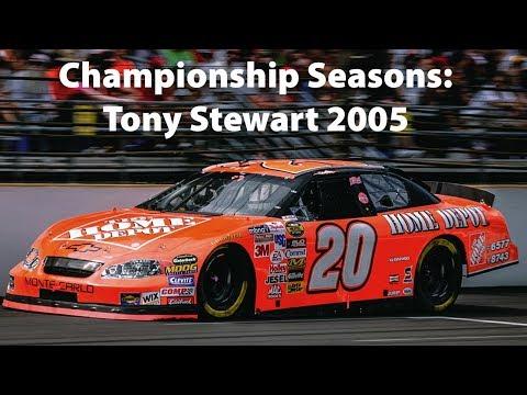 Championship Seasons: Tony Stewart 2005