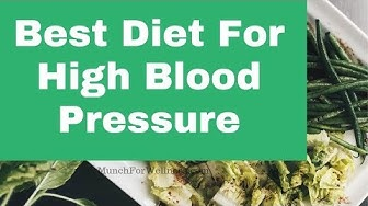 Best Diet For High Blood Pressure 💓 DASH Diet For Hypertension