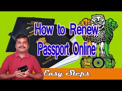 How to renewal passport online | தமிழ்